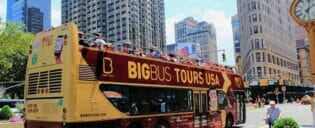 Hop on Hop off Bus i New York