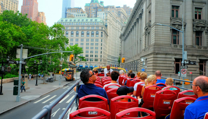 Hop on Hop off buss i New York - Sightseeing