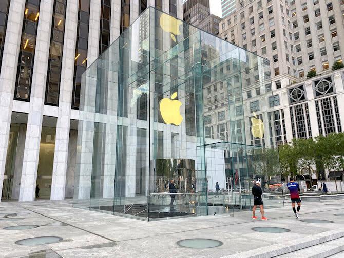 Elektronik och tillbehor i NYC - Apple Store