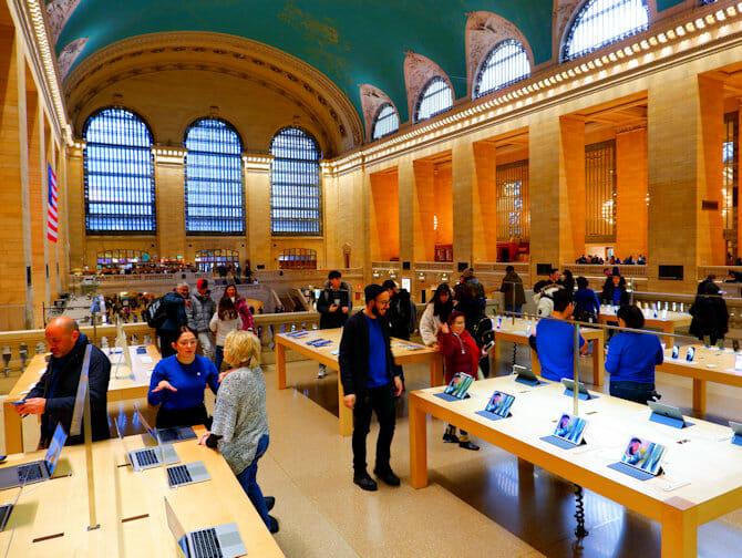 Elektronik och tillbehör i New York - Apple Store Grand Central
