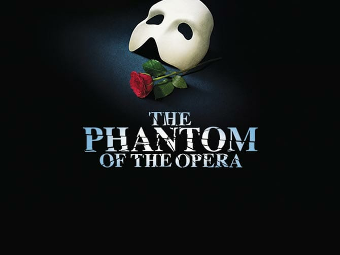 Biljetter till The Phantom of the Opera på Broadway