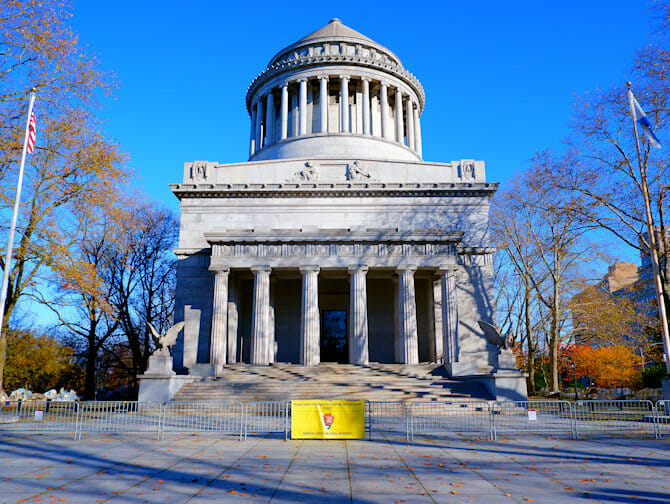 Veterans Day i NYC - Grants Tomb