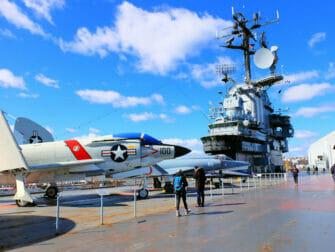 Veterans Day i NYC - Intrepid Museum