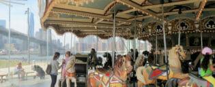 Janes Carousel i New York