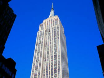 Presidents Day i NYC - Empire State Building