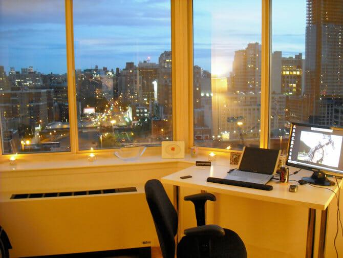 Arbeta och bo i NYC - Lägenhet med en bra utsikt