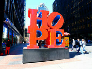Arbeta och bo i New York