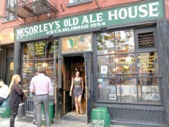 Rundtur bland dolda (speakeasy) barer i New York - McSorleys