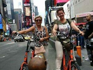 Guidad cykeltur på Manhattan i New York