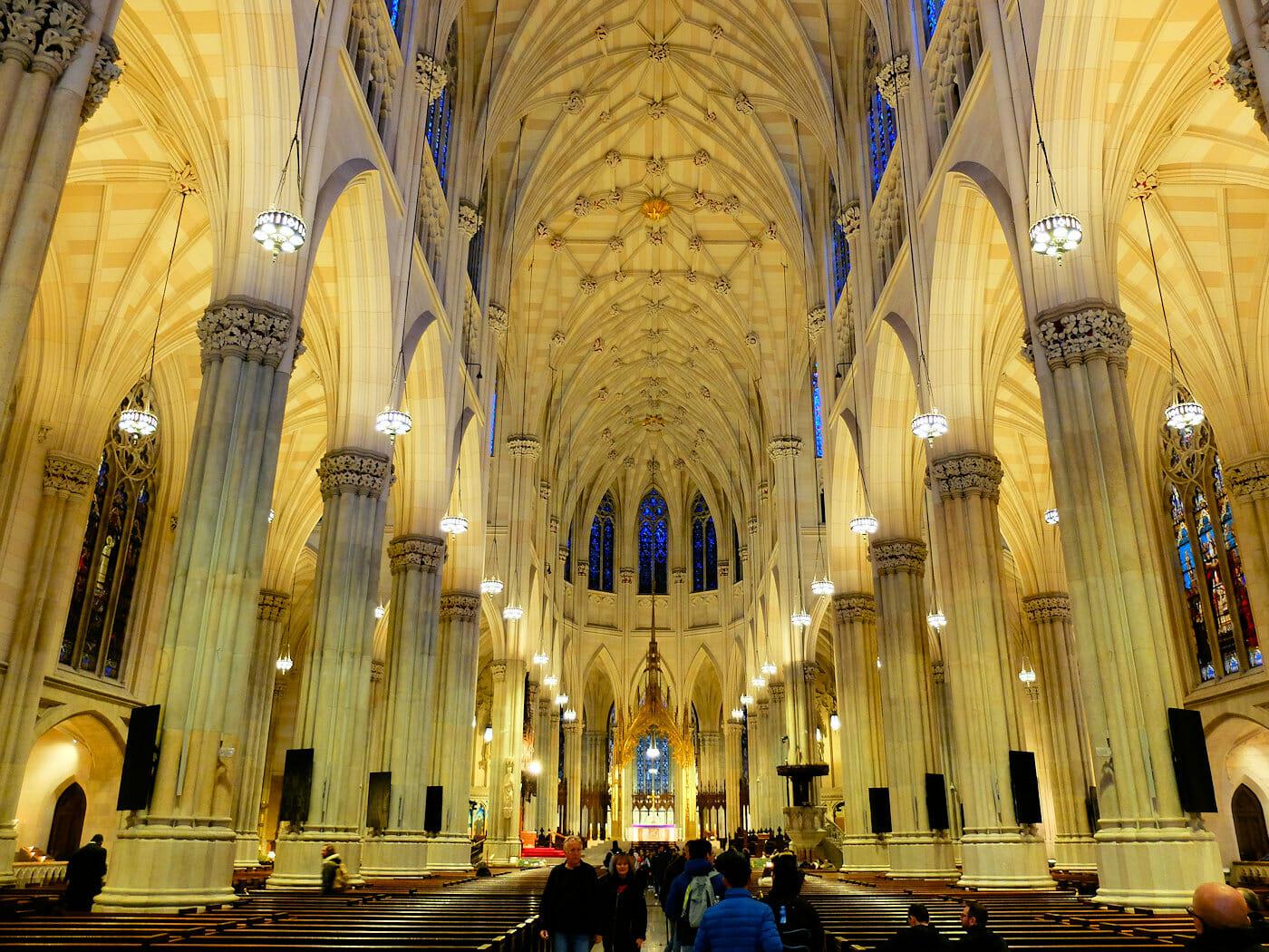 St. Patrick's Cathedral i New York - Fascinerande arkitektur