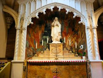 St. Patrick's Cathedral i New York - Aposteln Johannes