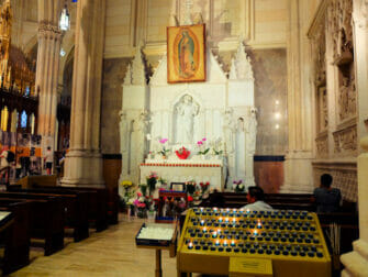 St. Patrick's Cathedral i New York - Altaret