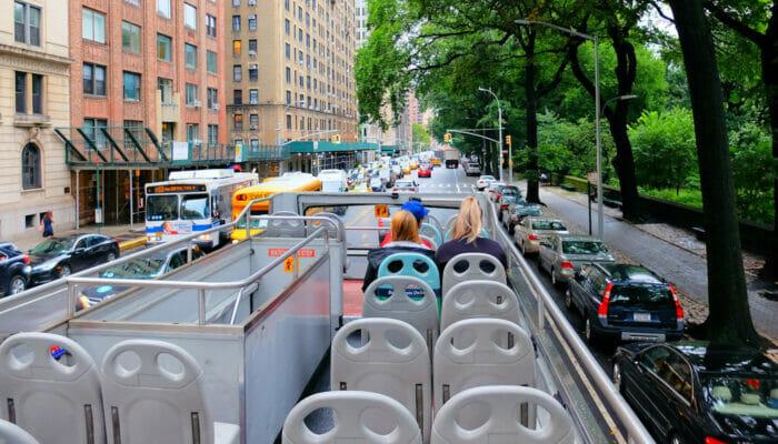 Gray Line Hop On Hop Off buss i New York - Guide
