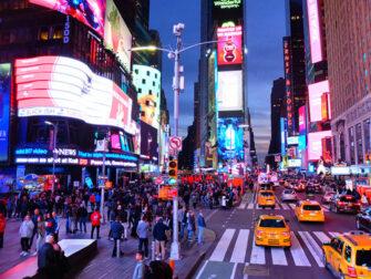 Gray Line Hop on Hop off bus i New York - Kvällstur
