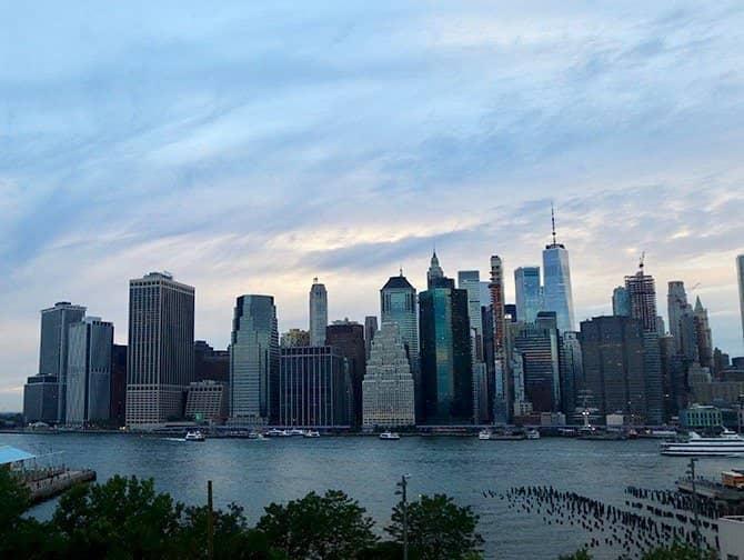 New York Night Tour - Skyline från Brooklyn