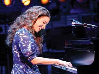 Beautiful The Carole King Musical på Broadway - Piano
