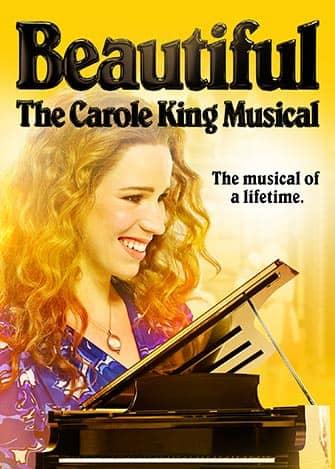 Beautiful The Carole King Musical på Broadway - Affisch