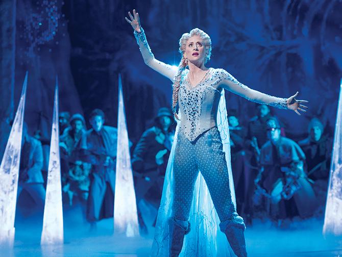 Biljetter till Frozen på Broadway - Elsa