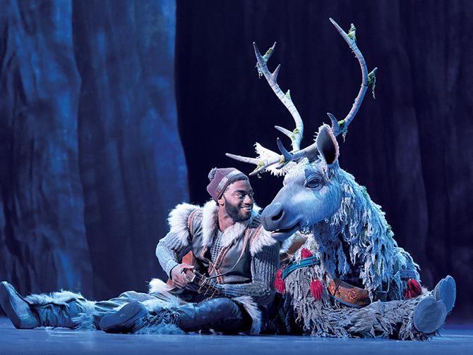 Biljetter till Frozen på Broadway - Kristoffer och Sven