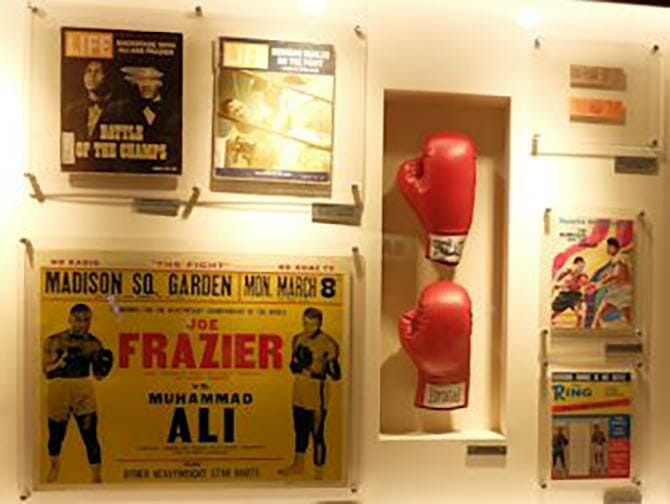 Boxning i New York