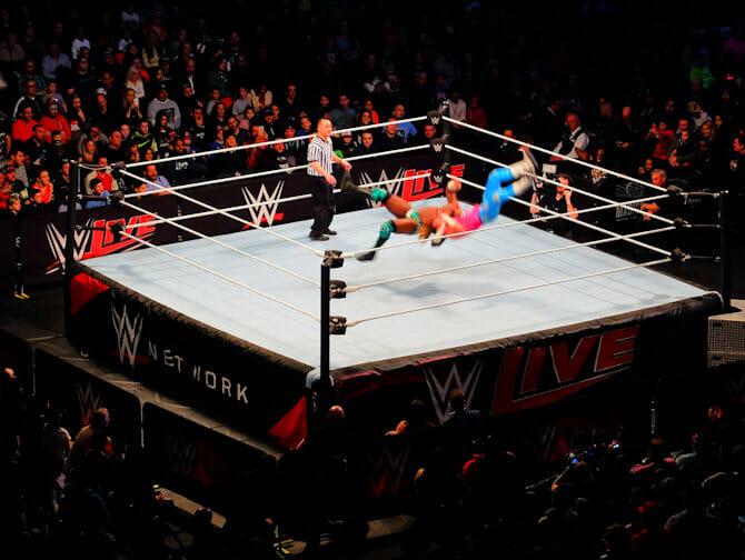 Biljetter till WWE brottning i New York