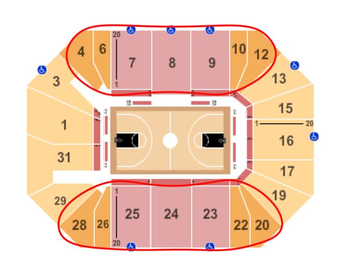 New York Liberty basket biljetter - Barclays Center sittplatskarta