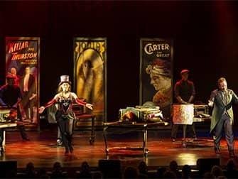 Biljetter till The Illusionists på Broadway -magiska trick