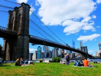 De bästa utsikterna i New York - Brooklyn Bridge Park
