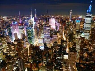 De bästa utsikterna i New York - Empire State Building