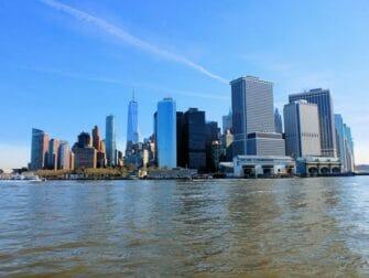 De bästa utsikterna i New York - Staten Island Ferry