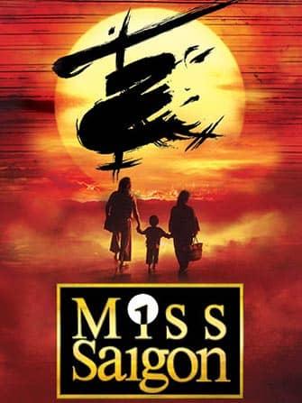 Biljetter till Miss Saigon på Broadway - Affisch