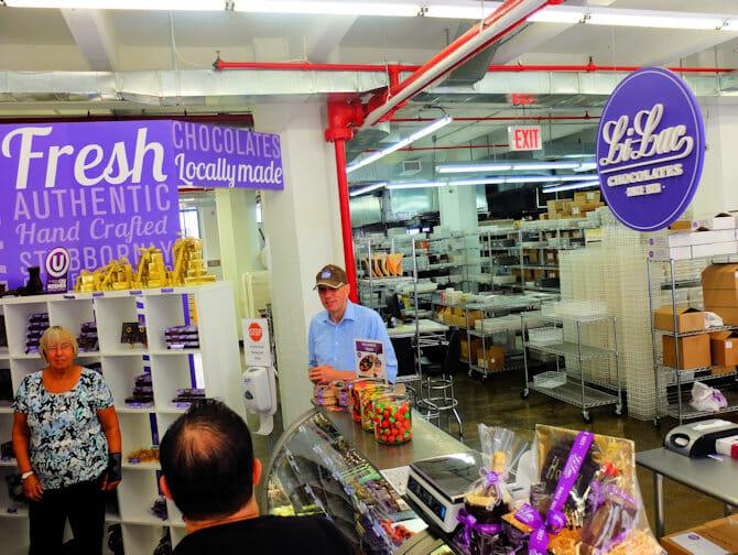Chokladrundtur i Brooklyn - Li Lac