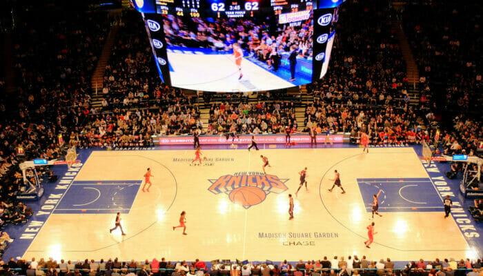 NBA basket i New York