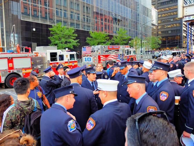 911 i New York - Brandmän