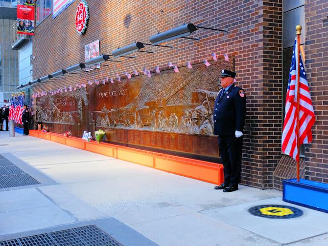 911 i New York - Memorial Wall