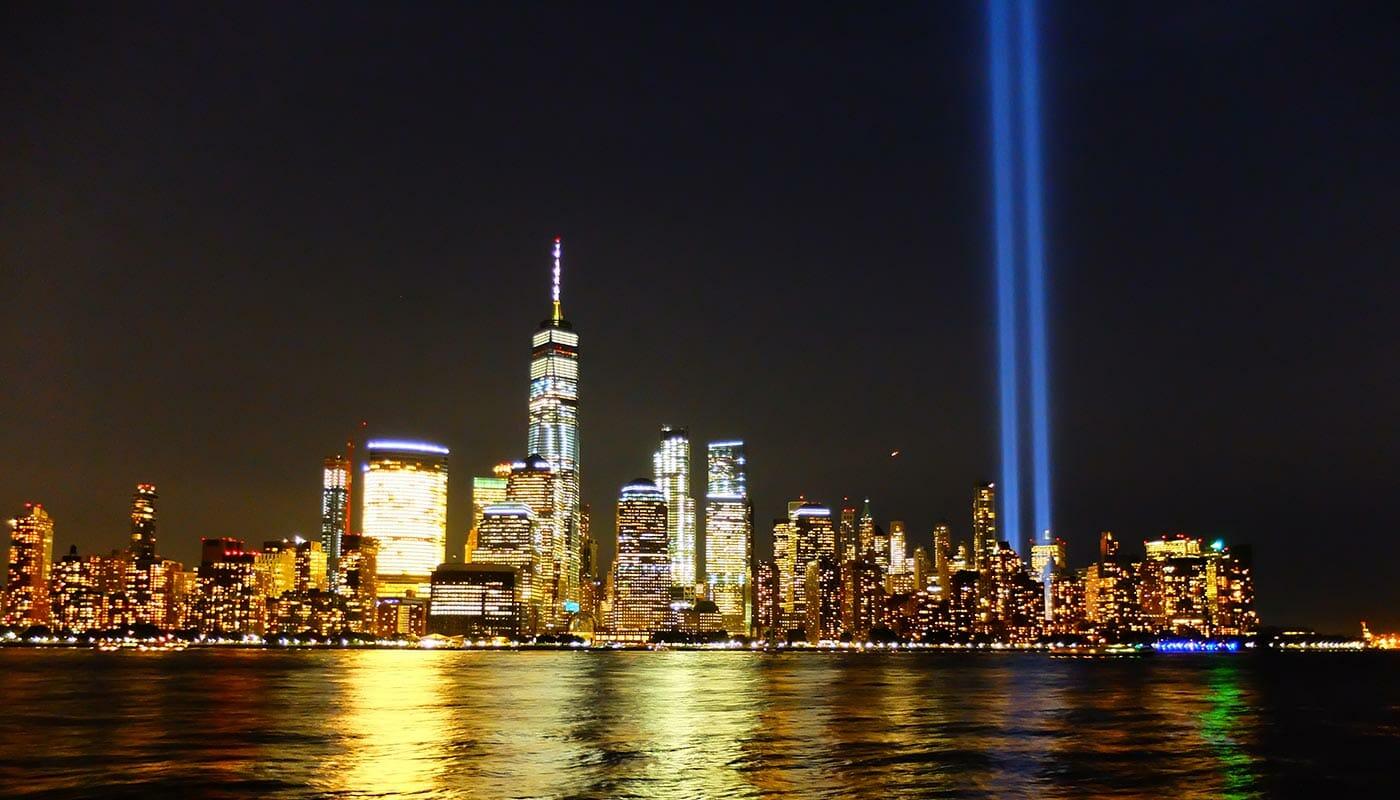 911 i New York - Tribute in Light