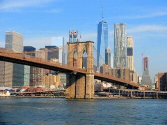 Skillnaden mellan New York Explorer Pass och New York Pass - Brooklyn Bridge