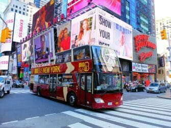 Skillnaden mellan New York Explorer Pass och New York Pass - Hop on Hop off Bus