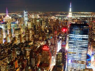 Edge Hudson Yards Observation Deck biljetter - Utsikt på kvällen