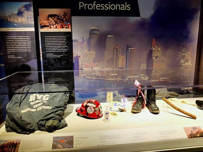 911 Tribute Museum i New York - Föremål