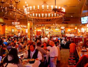Carmine's familjerestaurang i New York