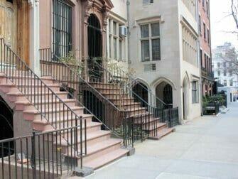 Klassisk film rundtur i New York - Breakfast at Tiffany's lägenhet