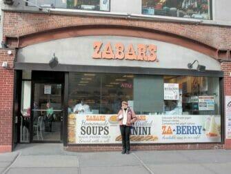 Klassisk film rundtur i New York - Zabar's