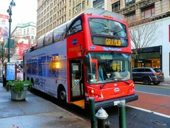 New York Sightseeing Day Pass - Hop on Hop off buss