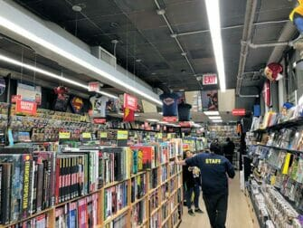 Superheroes Tour i New York - Seriebutik
