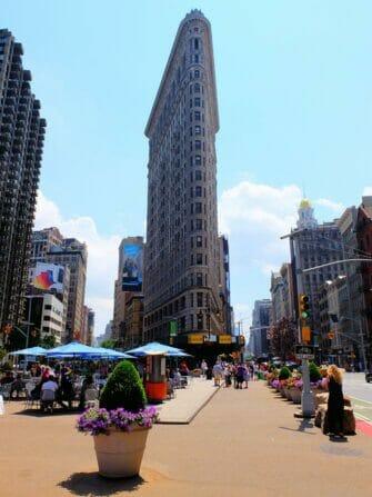 Superheroes Tour i New York - Flatiron Building