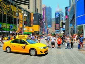 Superheroes Tour i New York - Times Square
