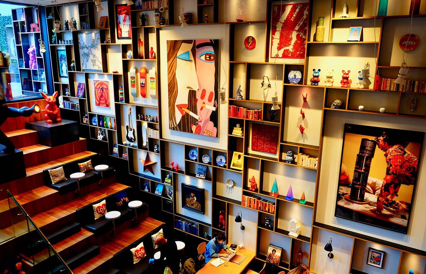 citizenM New York Bowery Hotel - Konst