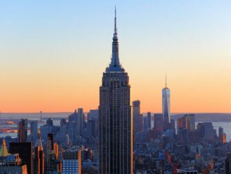 Skillnaden mellan New York Sightseeing Flex Pass och New York Explorer Pass- Empire State Building