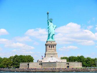 Skillnaden mellan New York Sightseeing Flex Pass och New York Explorer Pass- Frihetsgudinnan
